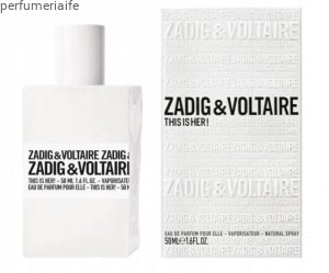 ZADIG & VOLTAIRE THIS IS HER! 50 ML EDP [PRODUKT]